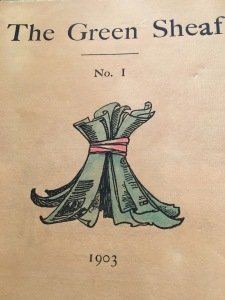 Cover of Green Sheaf no.1, 1903