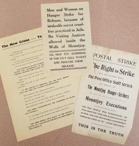 Image of handbills.