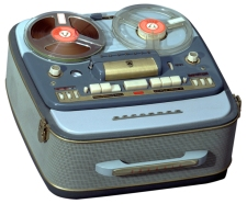 Image of Grundig reel-to-reel tape recorder