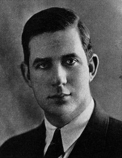 Portrait of Thomas P. O'Neill for Boston College student yearbook