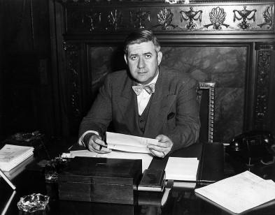 [Informal pose of Thomas P. O'Neill as Speaker of the Massachusetts House of Representatives