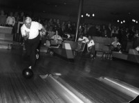 [Thomas P. O'Neill bowling], Thomas P. O'Neill, Jr. Congressional Papers (Tip O'Neill Papers) photographs, CA.2009.001, Boston College, Burns Library, http://hdl.handle.net/2345/8576.