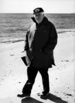 Thomas P. O'Neill walking along Cape Cod beach