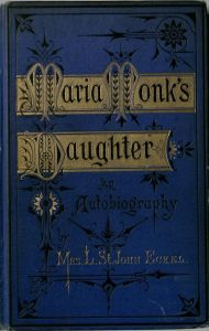 "Image of cover of ""Maria Monk's Daughter an Autobiography"""