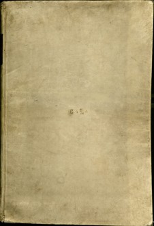 Image showing vellum, front cover.