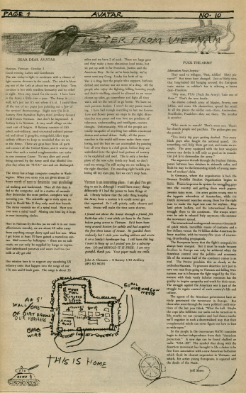 Image of October 13, 1967 issue of Avatar