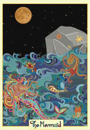 The Mermaid tarot card