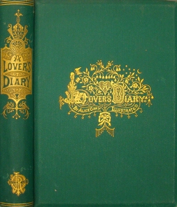 Green book cover with gold, highly-decorated title and spin